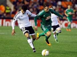 Danilo Barbosa probará suerte en el conjunto portugués. EFE/Archivo