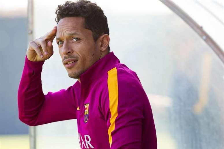 Adriano descartó fichar por Santos. EFE/Archivo