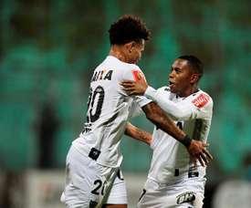 Atlético Mineiro se sitúa quinto con una nueva victoria. EFE/Archivo