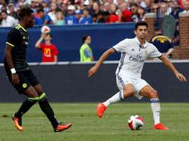 Enzo Zidane has been linked with a loan move to the Premier League. EFE