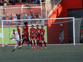 La ida acabó en 0-1 para el Ahli Al-Khalil y la vuelta, en 1-1. EFE
