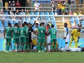 El equipo argelino perdió ante Honduras. EFE