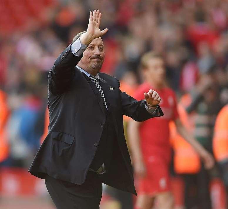 El Newcastle aguantó el resultado toda la primera parte. EFE