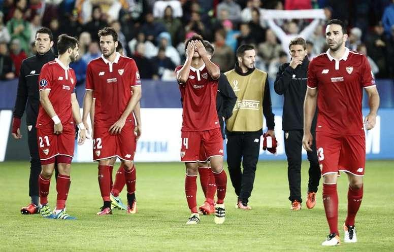 El Sevilla se enfrenta al Bayern en la gran final. EFE