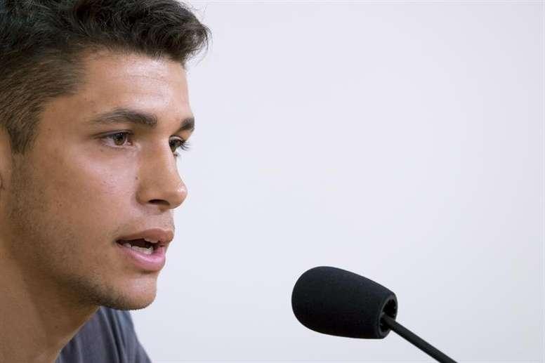 Mateo García vuelve mucho más maduro a Las Palmas. EFE