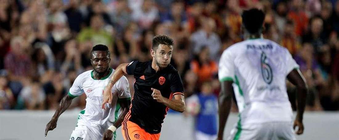 El conjunto valenciano sumó una nueva victoria en pretemporada. EFE