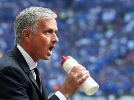 El entrenador del Manchester United Jose Mourinho. EFE/Archivo