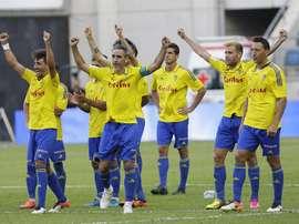El Cádiz lidera la Segunda División. EFE