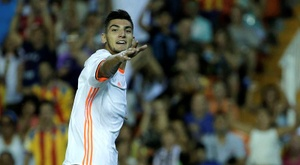 Rafa Mir looks set for a move to Real Madrid. EFE