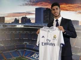 Asensio está no Real Madrid, mas também teve oferta do 'Barça'. EFE