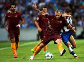 La Roma, sobre el papel, no tendrá muchos problemas para pasar a la siguiente ronda. EFE
