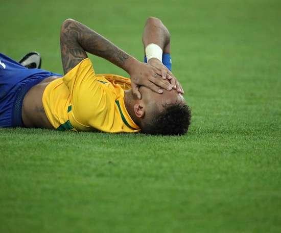 Neymar aura des vacances prolongées après sa médaille d'or olympique. EFE