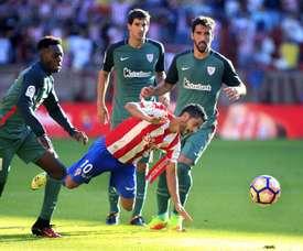 Nacho Cases no continuará en el Sporting de Gijón. EFE