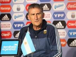 Le sélectionneur argentin, Edgardo Bauza. EFE/Archivo