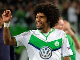 Dante con la camiseta de su último equipo, el VfL Wolfsburgo. EFE/Archivo