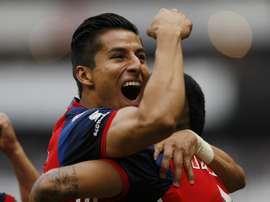 Le joueur mexicain Carlos Salcedo. EFE