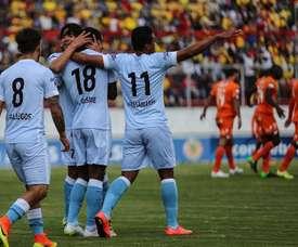 Real Garcilaso, primero del campeonato peruano. EFE/Archivo