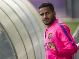 Douglas le dice adiós al Barcelona tras una etapa marcada por las cesiones. EFE
