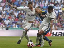 Zidane pourra compter sur ces deux défenseurs la saison prochaine. EFE