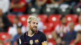 Messi quiere seguir en el Barça... siempre y cuando se cumplan sus condiciones. EFE