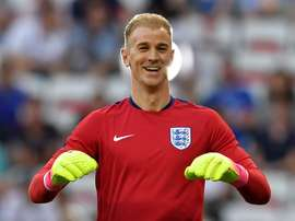 Hart is likely to be back in an England shirt as Fraser Forster has picked up an injury. EFE