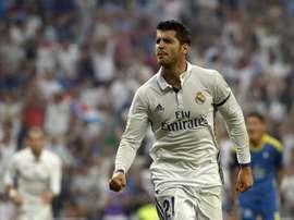 Morata salva al Real Madrid en Champions. EFE/Archivo