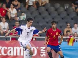 España se juega su presencia en el Europeo Sub 21 ante Suecia. EFE