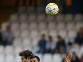 La actuación de Joselu fue decisiva para el triunfo del Lugo ante el Mallorca. EFE