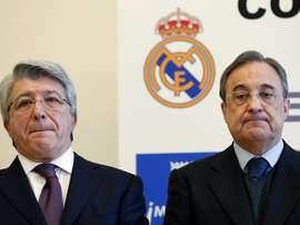 El Madrid se adelanta por De Frutos. EFE/Archivo