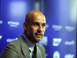 El técnico del City no pierde de vista a Alessandro Rossi. EFE/Archivo