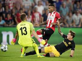 El Southampton ha echado el ojo al joven extremo del PSV. EFE
