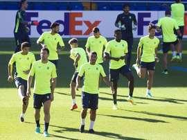 El Villarreal será el rival del Zurich en el primer partido de la Europa League. EFE