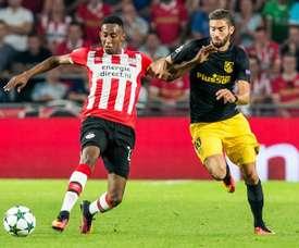 Brenet se quedó con las ganas de ir al Sevilla. EFE