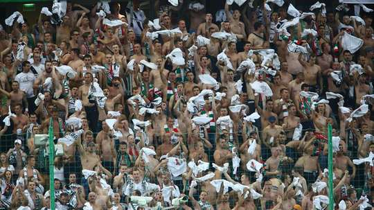 Legia claimed their 13th Polish Championship title. EFE