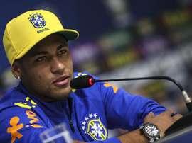 Le président n'a pas souhaité aborder le dossier Neymar. EFE