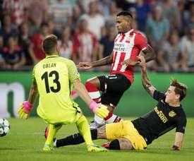 Narsingh podría abandonar la disciplina del PSV. EFE