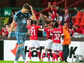 El Standard de Lieja gana el derbi de Valona. EFE