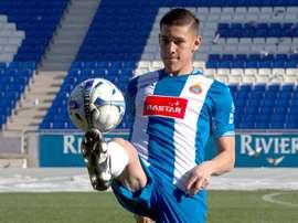 Duarte tiene todas las papeletas para dejar el Espanyol. EFE/Archivo