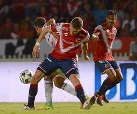 Los Tiburones de Veracruz superaron por 2-0 a los Jaguares de Chiapas. EFE/Archivo