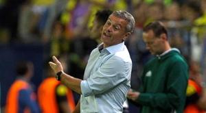 El técnico del Villarreal cree que su equipo perdió el partido en los primeros veinte minutos. EFE