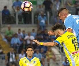 Francesco Zampano es uno de los jugadores pretendidos por la Fiorentina. AFP
