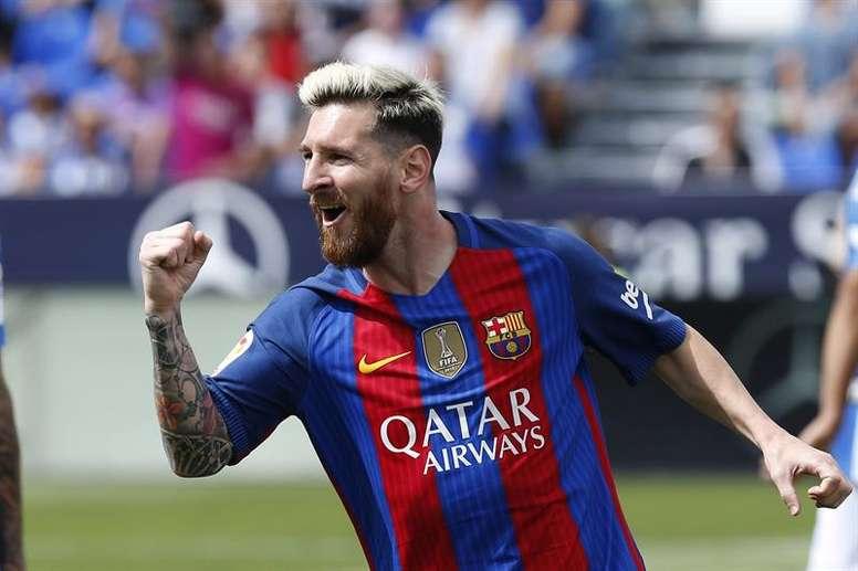 El rosarino llevo un gol más que Cristiano en Liga desde que ambos llegaron a esta competición. EFE