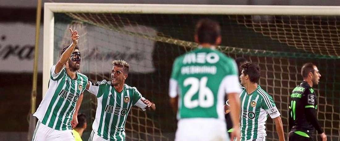 Roman anotó el 0-2 definitivo de Rio Ave. EFE/Archivo