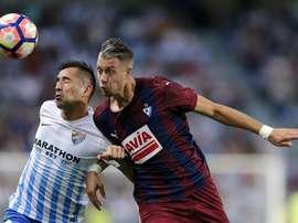Lejeune, jugador del Eibar, podría salir este mismo verano. EFE