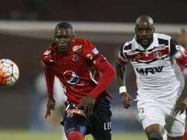 Independiente Medellín consiguió la victoria en el último suspiro. EFE