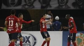 El 'poderoso' venció con facilidad a Deportivo Cali. EFE/Archivo