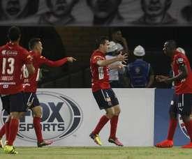 El conjunto de Medellín rescató un punto ante Rionegro Águilas. EFE