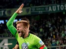 El Wolfsburgo tiró de rabia para levantar el 0-1 del primer tiempo. EFE