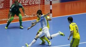 Alan Brandi fue decisivo para Argentina. EFE/Archivo