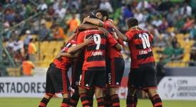 En la fotografía, los jugadores del Flamengo. EFE/Archivo